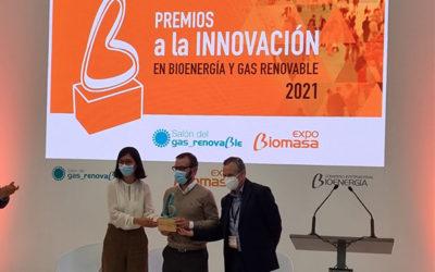 La Unidad Mixta Gas Renovable recibe el Premio a la Innovación del Salón del Gas Renovable